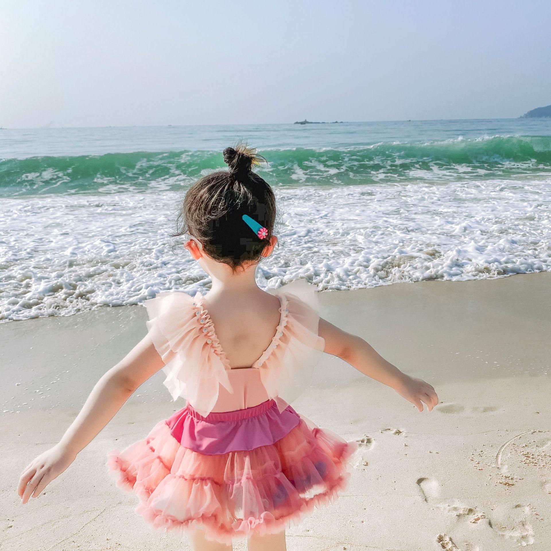 中國代購 中國批發-ibuy99 泳装 女童泳衣网红2021年新款韩国宝宝女宝宝二岁儿童女孩女宝可爱3岁