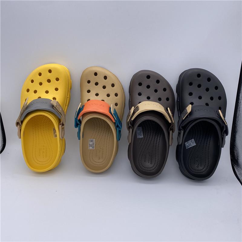 。corss洞洞鞋特林夏季新款 沙滩鞋男女凉鞋户外造型特色登山涉水