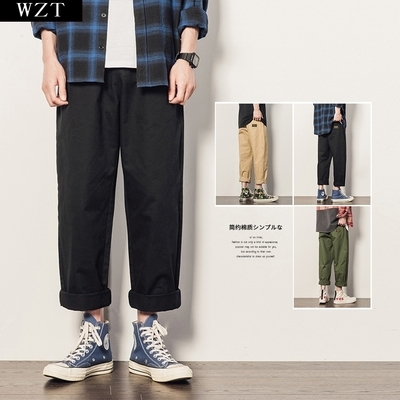 Mens pants work Xiatian is suitable for pants with thick crotch and thigh. They are dirt resistant, loose and wide. They work straight and have big feet