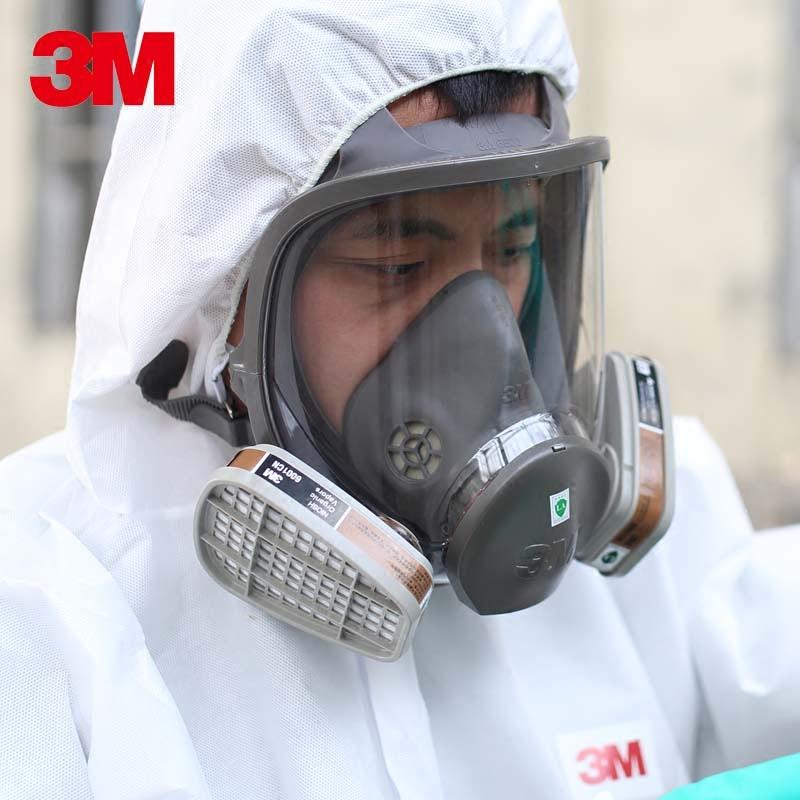 3 M 6800防毒全面防毒有機蒸気マスク塗装防甲アルデヒド防塵専用マスク