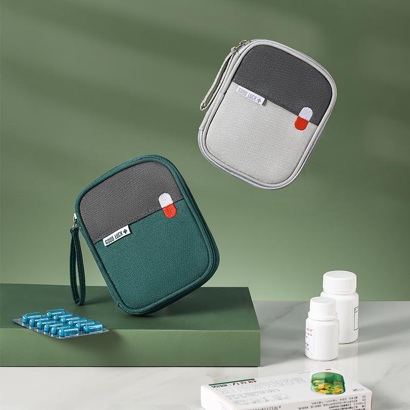 家用便携急救包车载户外旅行小型包地震生存应急用品医药箱包