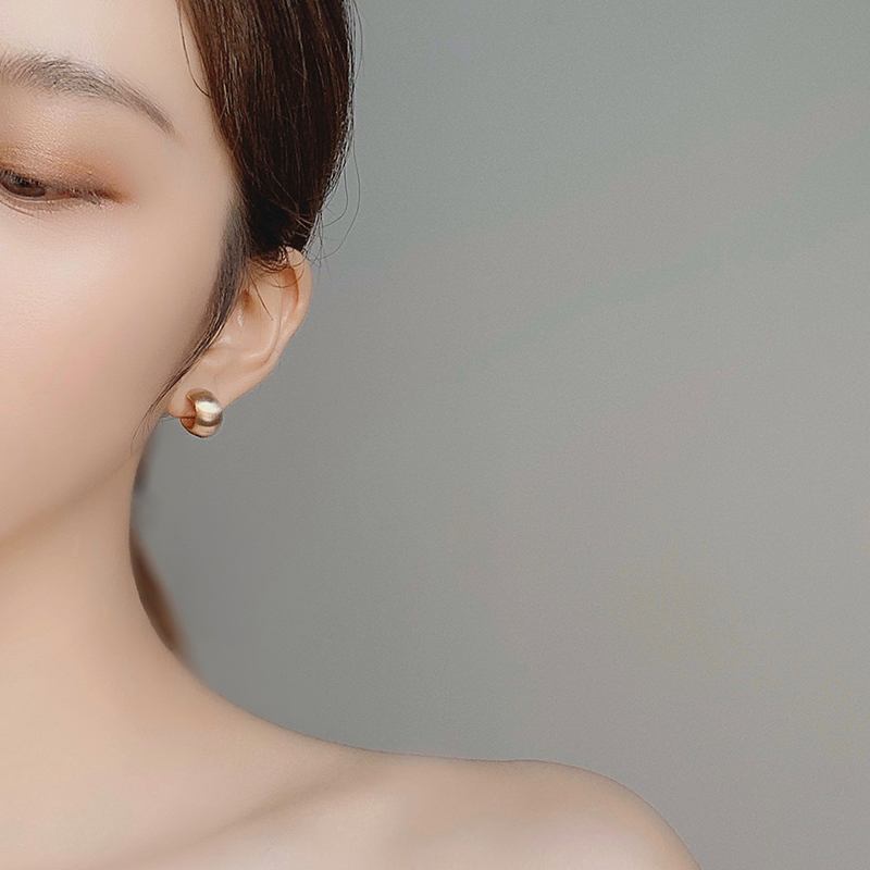欧美复古个性冷淡风S925银针耳钉网红新款潮港风设计感耳环耳饰女