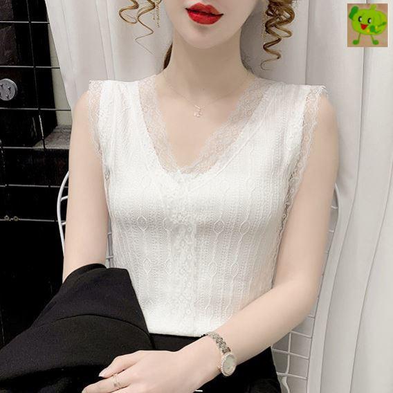 中國代購 中國批發-ibuy99 连体西装女 吊带背心女气质内搭2021年春夏新款V领外穿蕾丝打底小衫西装外套