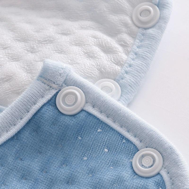 口水巾纯棉婴儿防水围嘴围兜吃饭可旋转男女宝宝防吐奶饭兜68