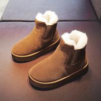 儿童2020年秋冬季男童鞋子雪地靴