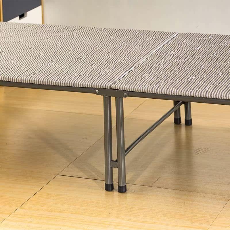 华马午休床单人硬木板床薄海棉折叠办公室午睡床简易医院陪护小床