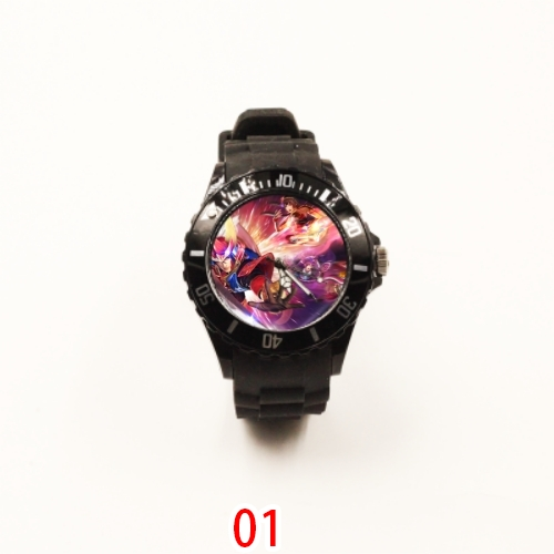 Luminous Warring States unparalleled 4 Watch test pointer number anti falling simple cartoon children primary school 3264