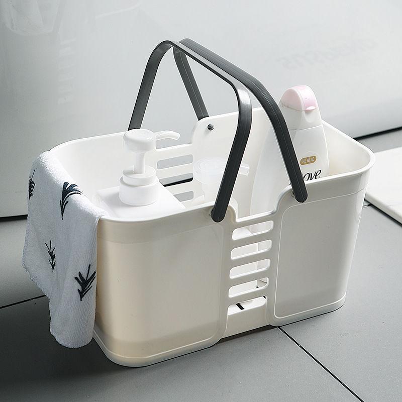 带手柄手提洗澡篮子澡堂浴室塑料沐浴洗漱篮收纳筐置物篮洗浴篮子