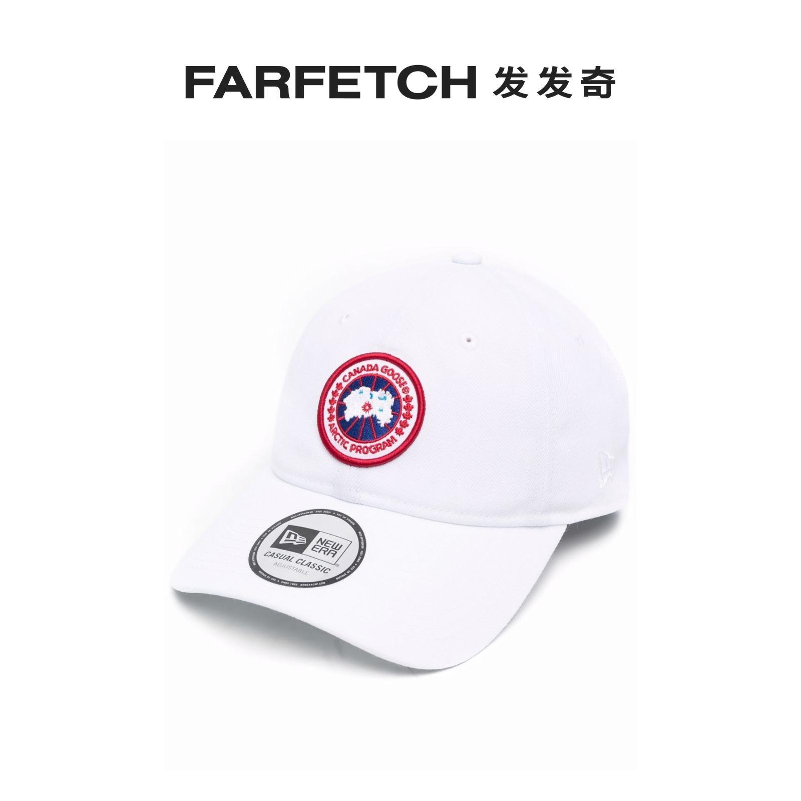 [新品]Canada Goose男女通用Arctic Disk 贴花棒球帽发发奇