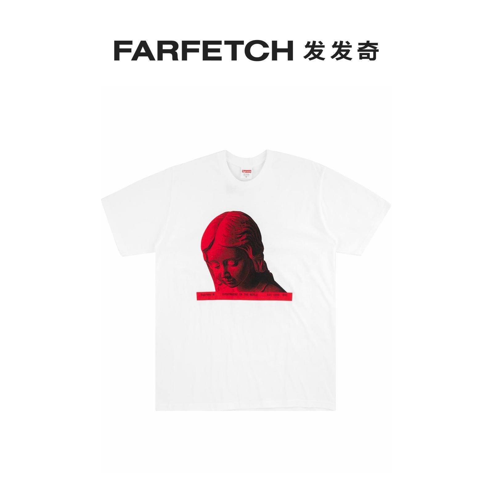 七夕新品Supreme男士Everywhere T恤FARFETCH发发奇