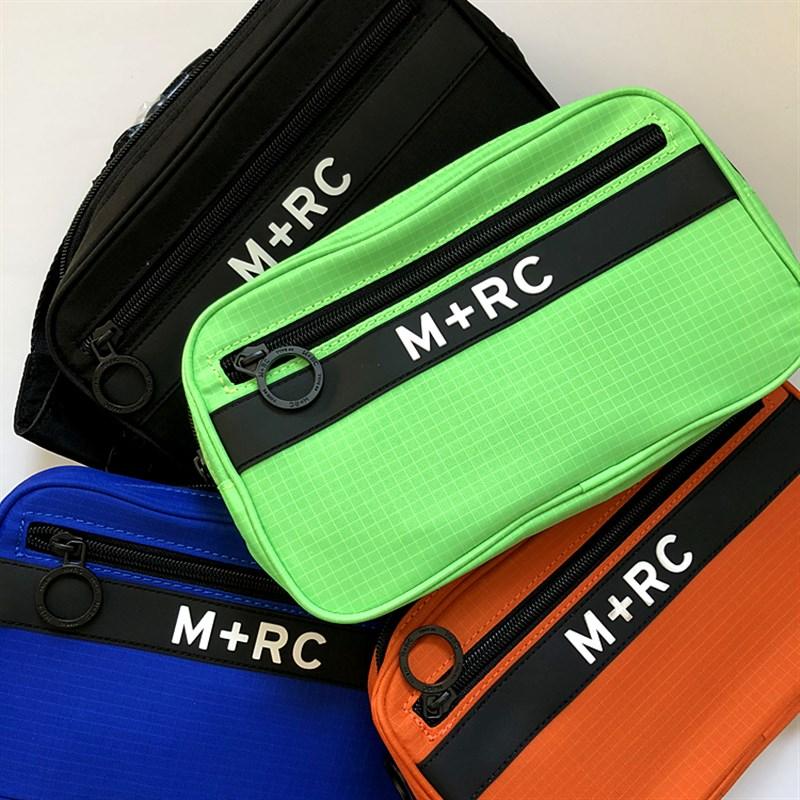 潮物Woo M+RC NOIR Canal Street Belt Bag Logo运动腰包男女通用