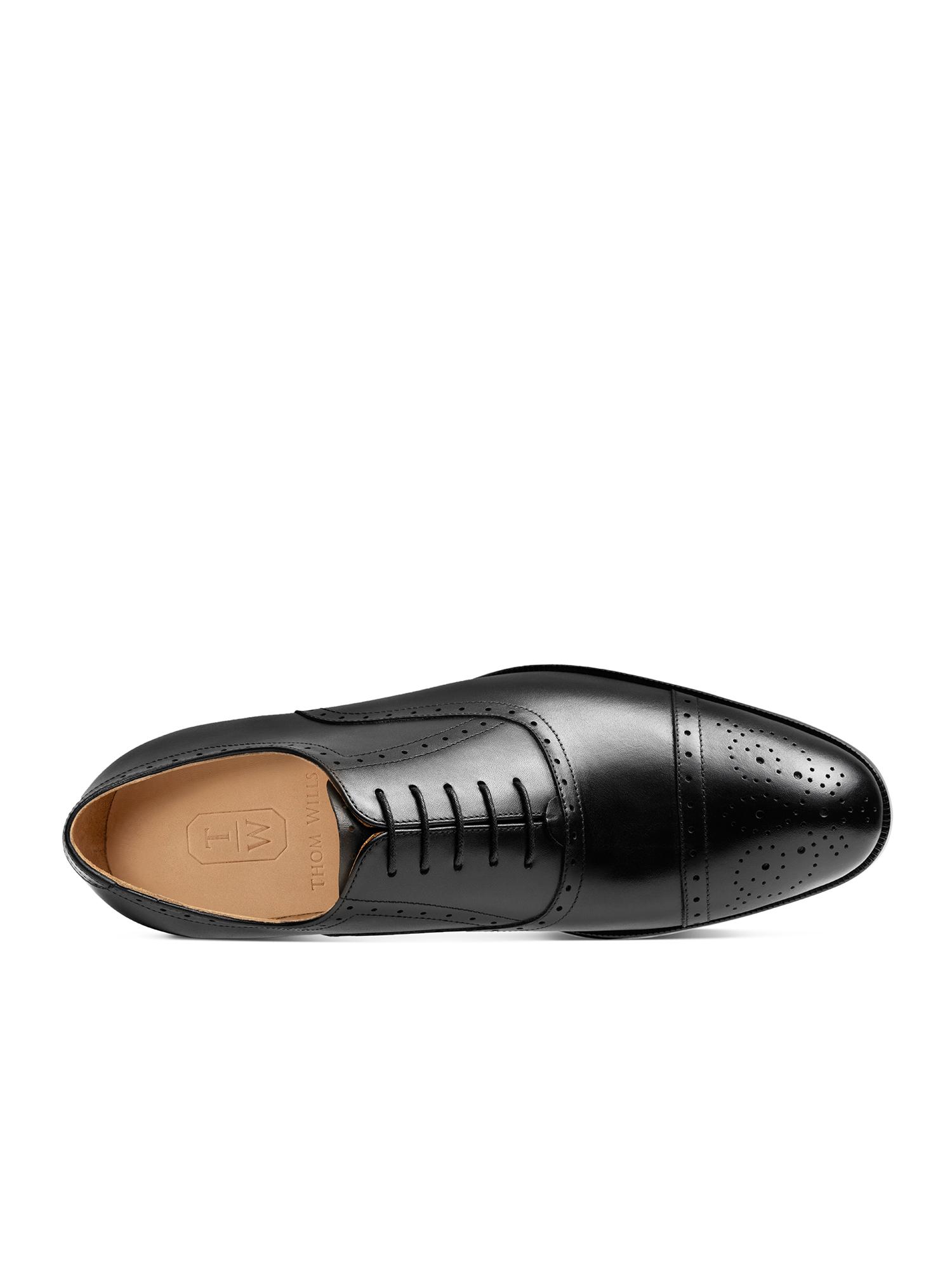正品ThomWills男鞋布洛克雕花皮鞋男商务正装手工英伦牛津鞋