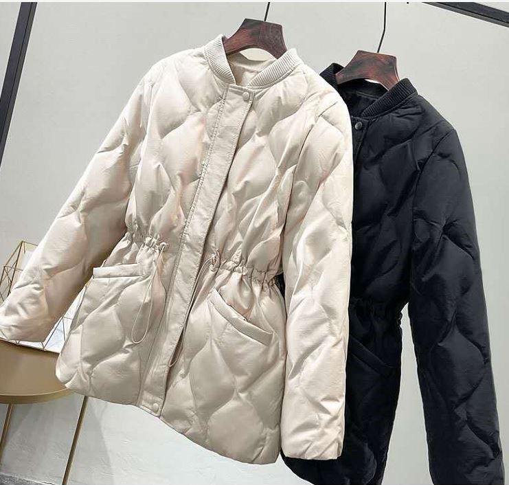 北面人产出口哥伦比亚秋冬季女士短款轻薄鸭绒羽绒服外套保暖棉服