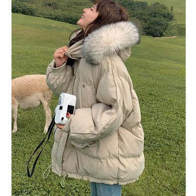 2021冬季新款羽绒棉服女短外套韩版bf宽松网红ins港风加厚棉衣女