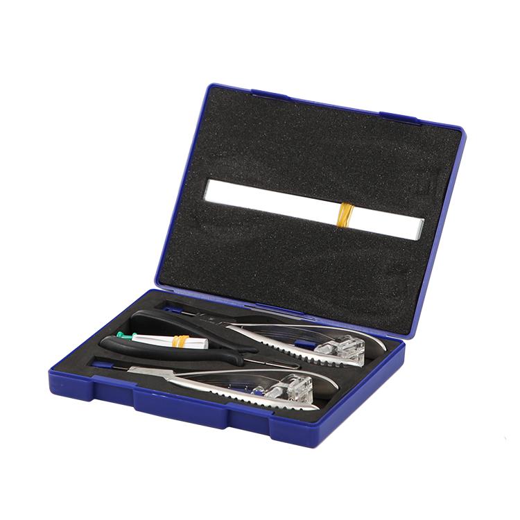 胶塞安装配备眼镜剪断手感工具带钳子弹簧套装无钳框好拆卸附件