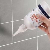 家用浴室地板瓷砖美缝剂墙体墙面地板砖缝隙填充剂防水防霉填缝剂