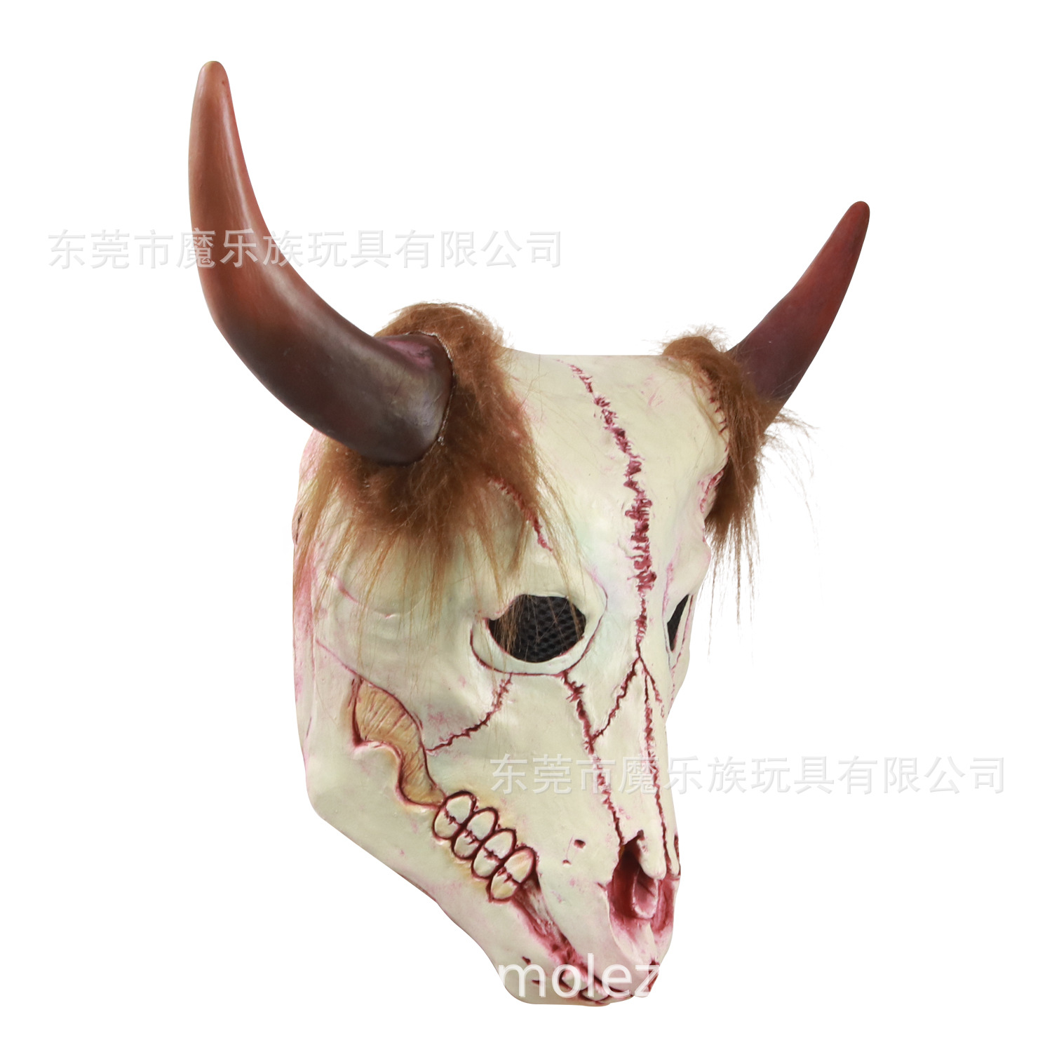 Halloween skull mask zombie ghost mask imitation biochemical crisis skeleton ghost house props.