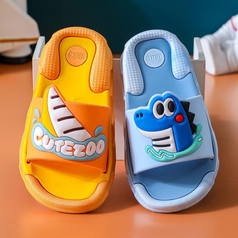 儿童夏季拖鞋男宝女宝室内防滑软底浴室凉拖鞋中小童防水夏天拖鞋