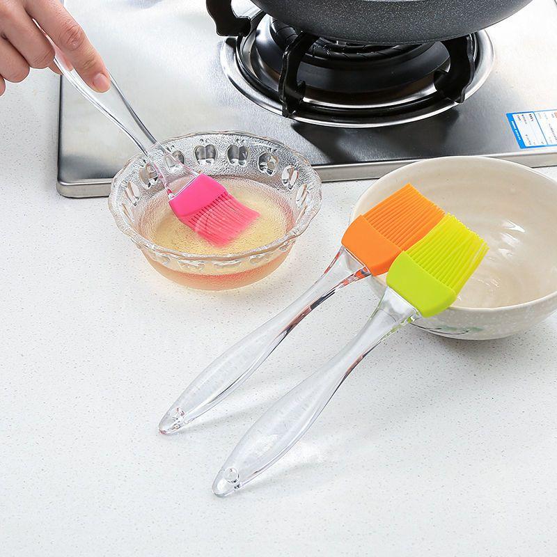 刷子刷油油家用厨房耐高温毛烧烤硅胶刷子烘焙烙饼不掉