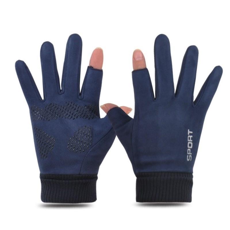 冬天带的手套开车专用男式冬款保暖驾驶员冬季潮流学生骑车触屏