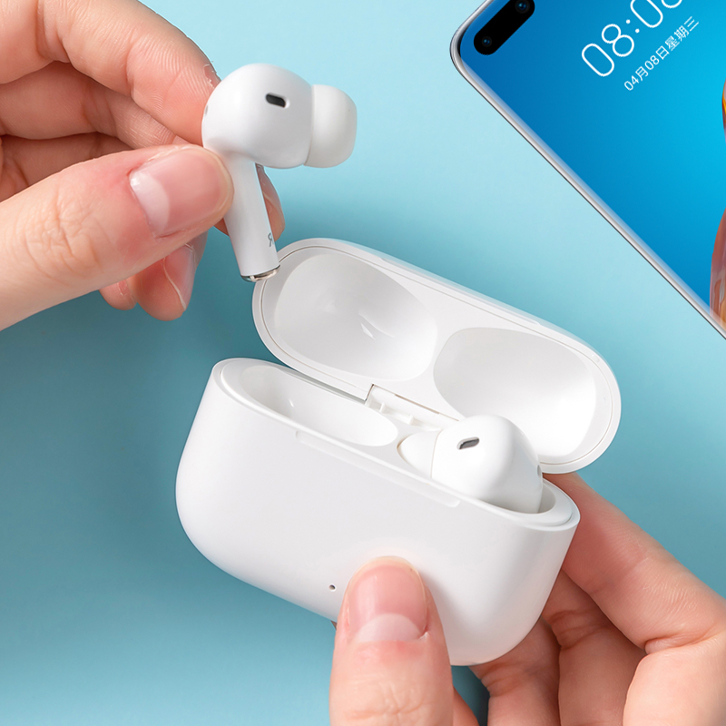 MINISO名创优品经典真无线蓝牙耳机K66 Pro带充电盒
