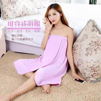 Beauty salon steaming clothes autumn and winter Bath skirt massage thick womens bra bath clothes wrapped in chest scarf apron sleeping clothes bath.