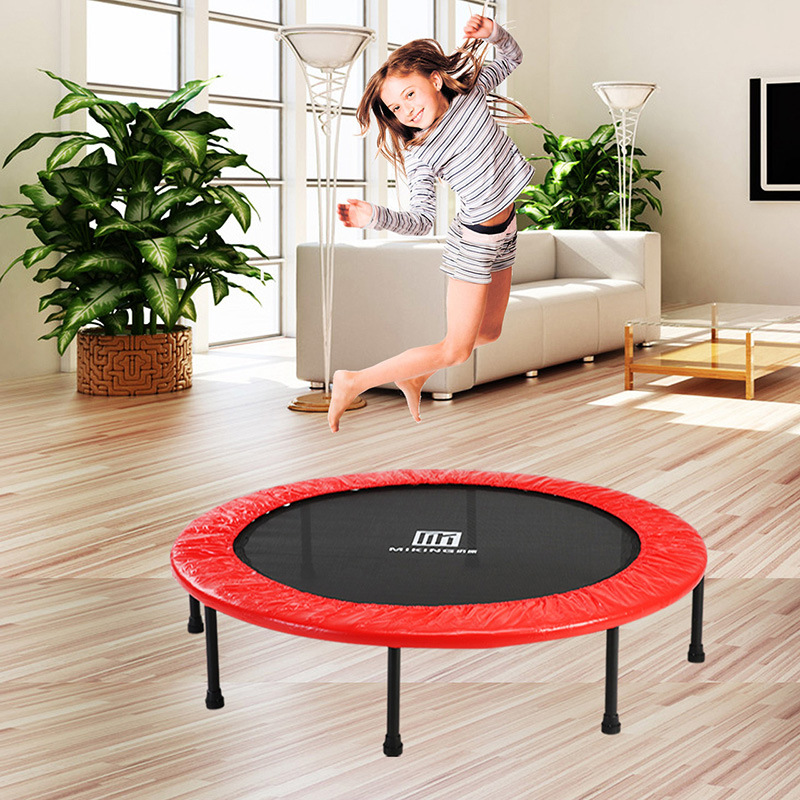 Bed fitness trampoline indoor bed professional spring trampoline bungee jumping children folding production trampoline home adult jumping