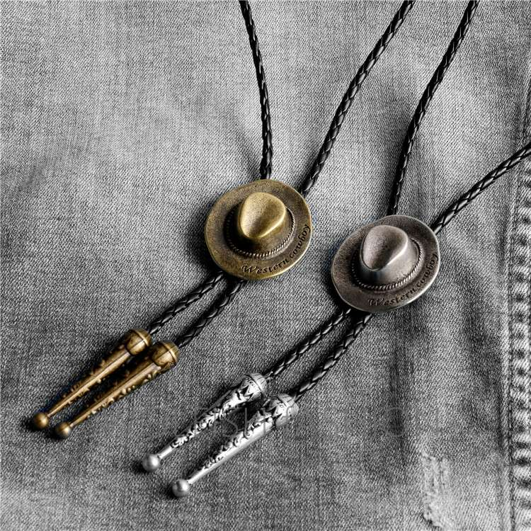 GIFT PENDANT shirt decoration leather rope accessories sweater chain pendant neckline mens Pendant Necklace long style
