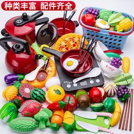 碗筷全套做饭玩礼盒家玩具煮菜的厨具儿童男娃娃套装铁铲可以