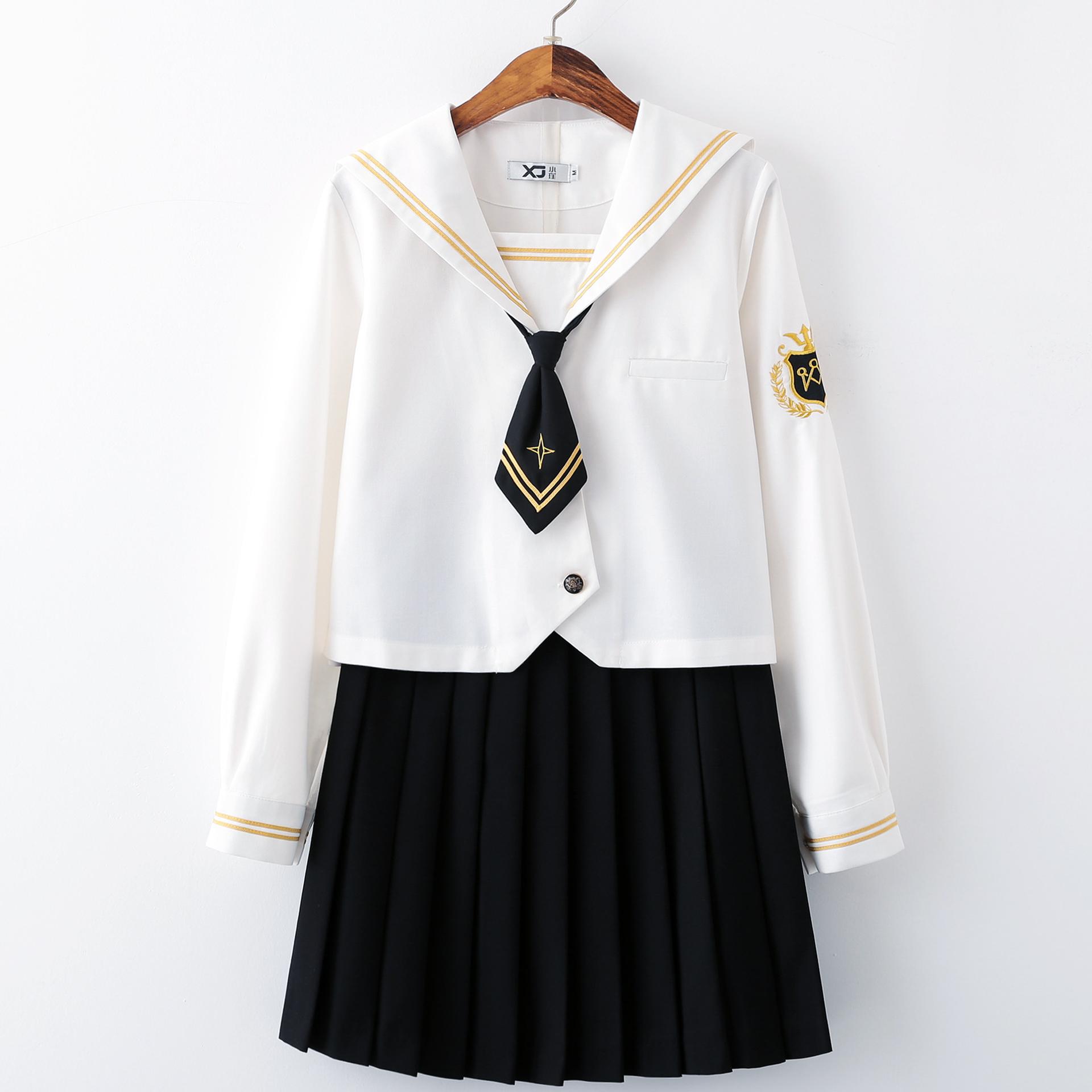 松岛秋子小姐小瑾正版司皇东JK制服水手服中间服日系少女校服套装