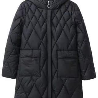 中长款棉衣d棉服2020年秋冬装新款大码女装200斤加厚保暖妈妈外套