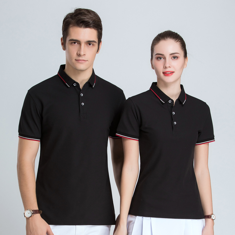 Polo shirt customized work clothes T-shirt printed logo customized short sleeve publicity work clothes team Lapel clothing embroidery