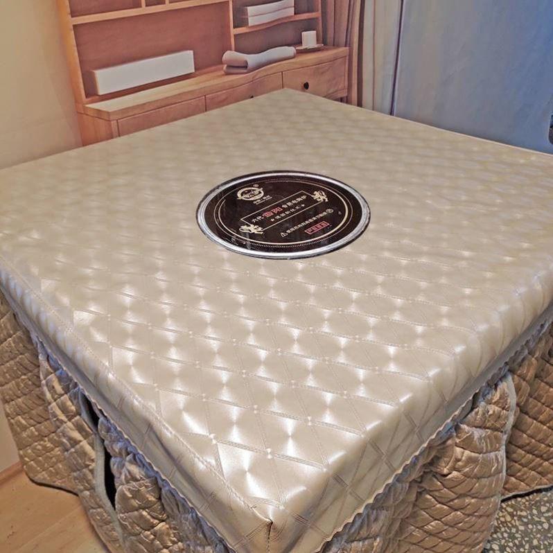 新款加厚长方形烤火桌罩电炉罩套茶几取暖桌子被套烤火炉桌布罩套