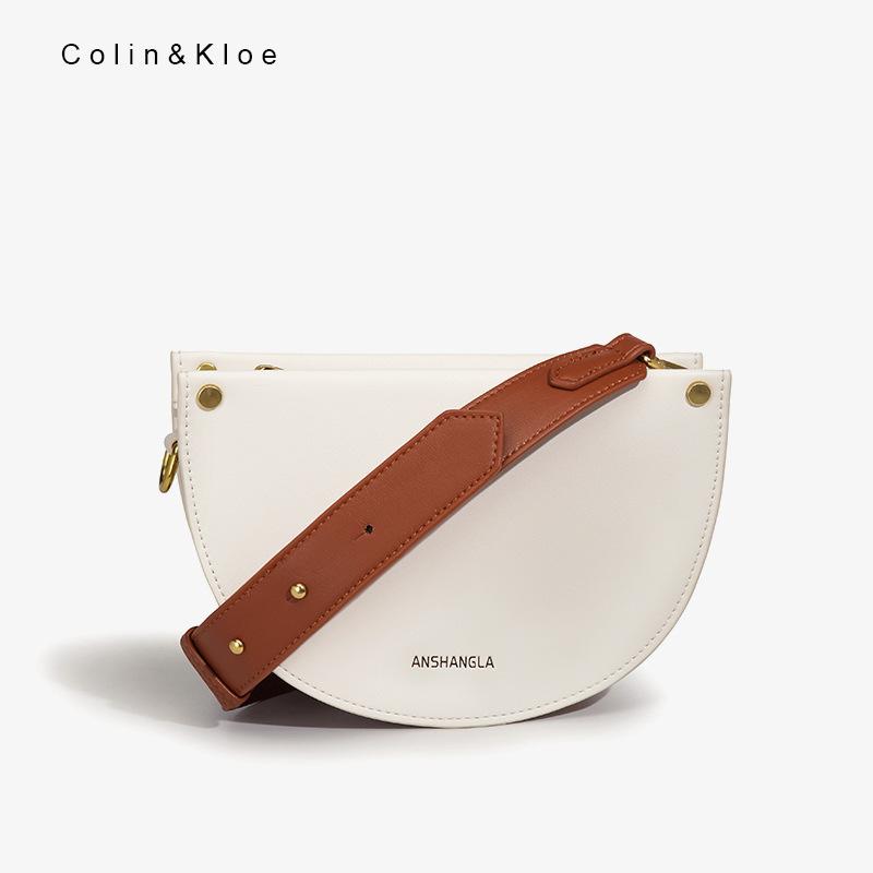 包包女2021夏季新款潮流时尚简约半月包单肩斜挎饺子女包一件批发