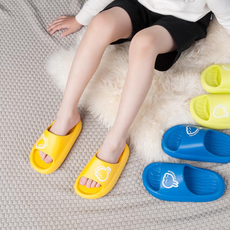 流氓兔儿童拖鞋夏季男女童宝宝室内浴室洗澡防滑软底家用凉拖女
