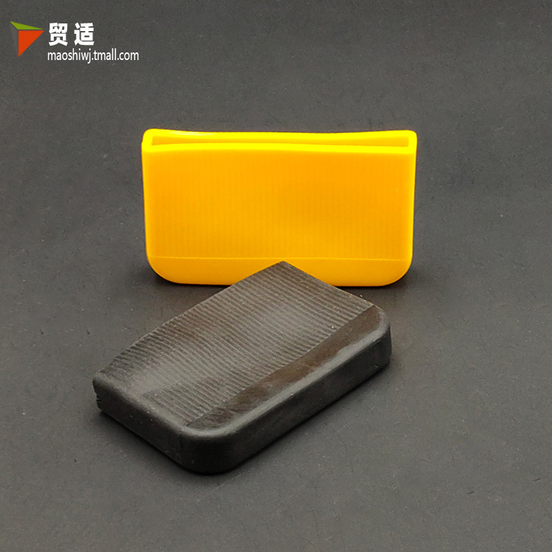 Flat iron flat steel soft plastic protective cover air conditioner support flat iron protective cover