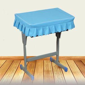艺教师白色中学生桌写字定做60套桌子套套餐桌可椅套学校桌布40