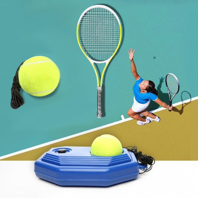 网球训练器网拍可拆球单人回弹万向扣耐磨皮筋高弹耐打专业学生