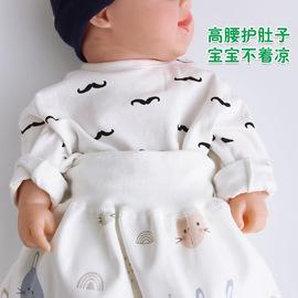 宝宝隔尿裙防尿床神器婴儿童布尿裤兜防漏可洗纯棉防水尿垫戒夜尿图片