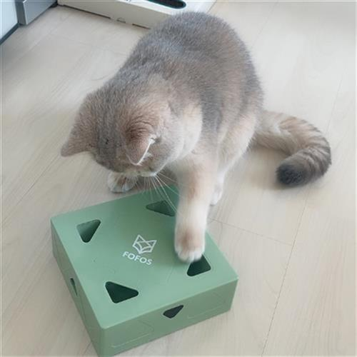 Cat toy electric power intelligent move from cat magic box