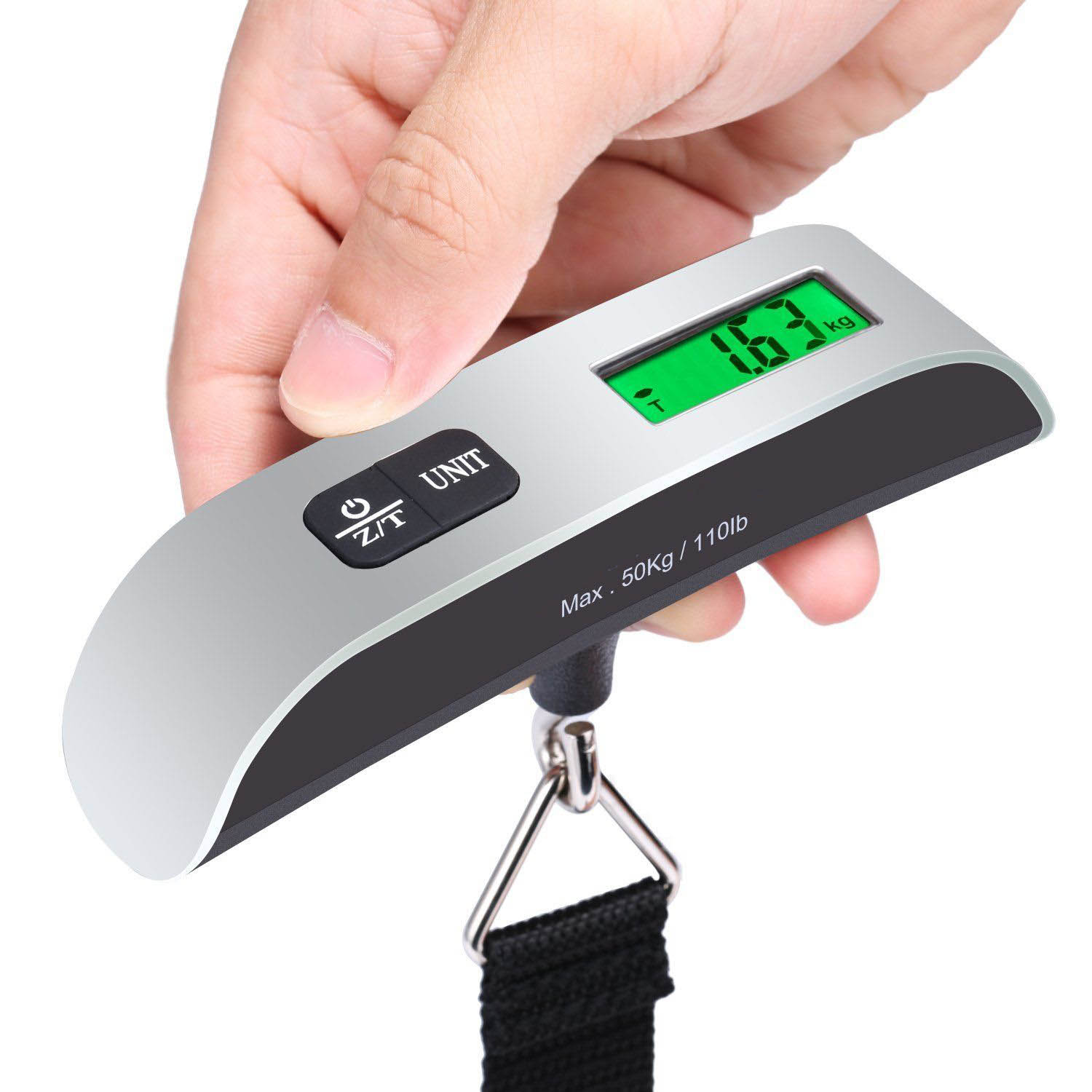 Portable scale high precision portable luggage scale travel scale spring fishing electronic scale luggage scale express scale