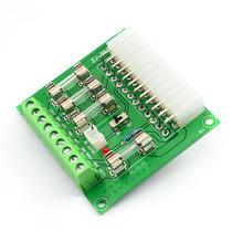 台式机atx电源转接板电脑atx电源g取电板电源引出接线模块