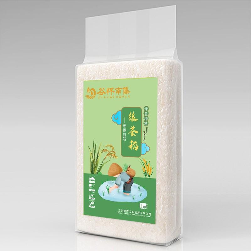 南集大米 江苏淮安大米非东北大米南粳9108大米粳米真空包装 1kg