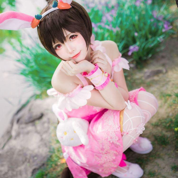 斗罗大陆的小五的衣服公主裙周边假发角色扮演五年之约大童透气