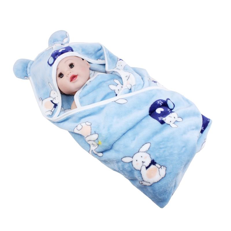 Flannel bé quilt chăn sơ sinh mùa xuân và mùa thu bé cung cấp chăn nhỏ mùa xuân và mùa hè mỏng phần khăn - Túi ngủ / Mat / Gối / Ded stuff