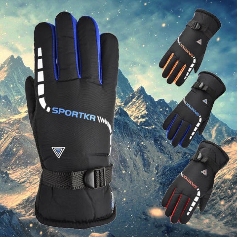 中國代購|中國批發-ibuy99|滑雪|保暖手套男冬季加厚加绒骑行防滑防寒摩托车电动车骑行滑雪棉手套
