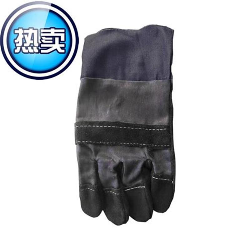 E denim suede welding gloves lengthened durable h mechanical industrial protective hand y set 27cm