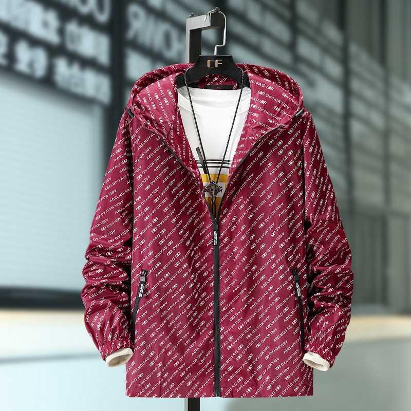 Extra large size 0 mens R suit spring and autumn thin fat coat mens plus fat plus size fat guy loose sports jacket V300