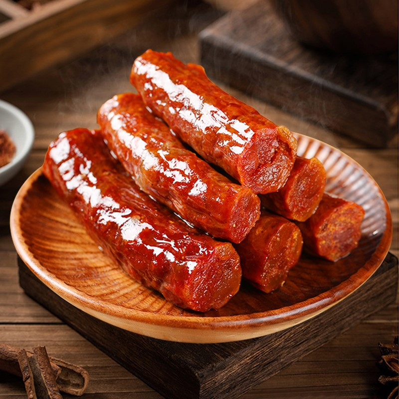 Sichuan specialty spicy sausage 400g homemade smoked sausage Cantonese Sausage