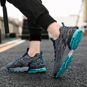 男鞋夏季气垫运动休闲跑步2020新款网面鞋潮流百搭秋季鞋子男潮鞋